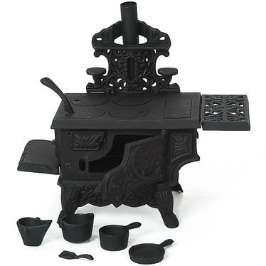 Mini Cast Iron Wood Cook Stove