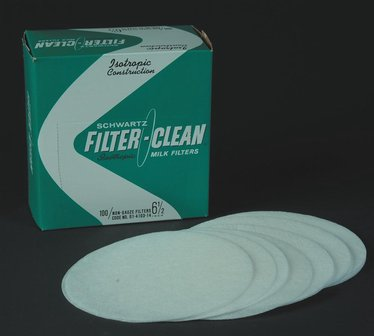 Filter Disks for Large Milk Strainer