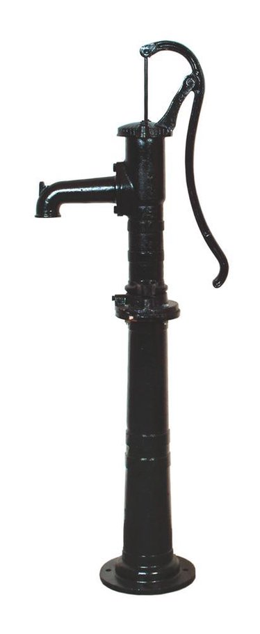 Victorian-Style German Made Hand Pump for Shallow Wells