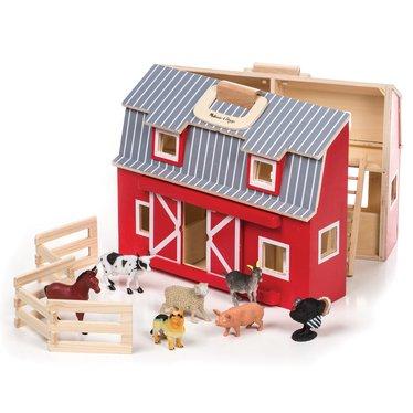 Fold And Go Wooden Barn Children S Toys Lehman S