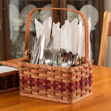 Amish-Made Silverware Basket