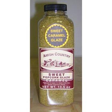 Sweet Caramel Popcorn Glaze