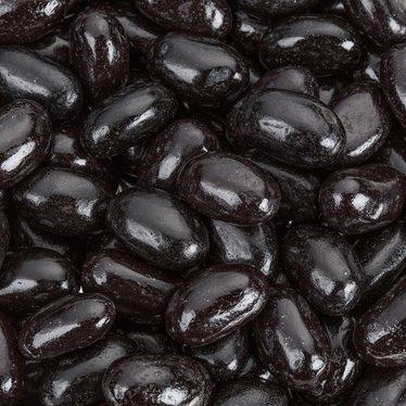 Jumbo Black Licorice Jelly Beans