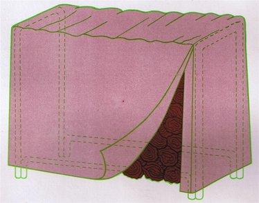 8-Foot Log Rack Cover