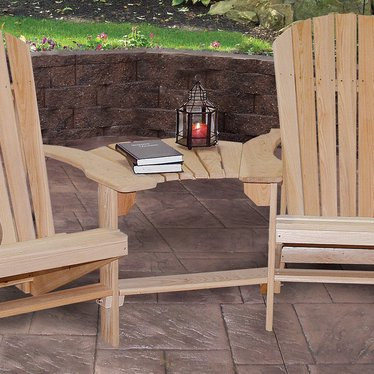 Cypress Connector Table for Adirondack Chairs