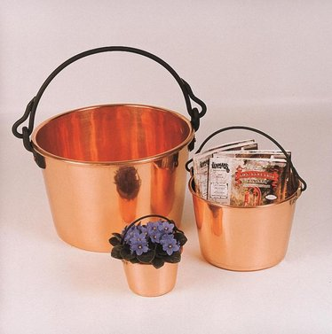Flat Bottom Copper Kettles