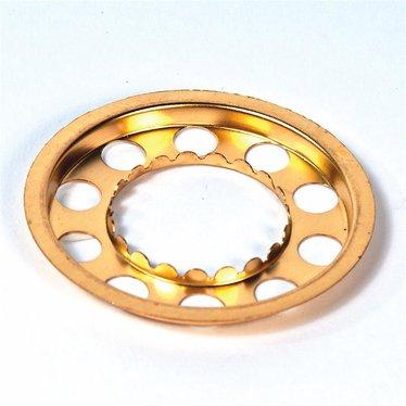 Shade Holder for Miniature Nutmeg Oil Lamp Burner