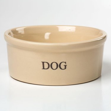 Stoneware Dog Bowl - Large