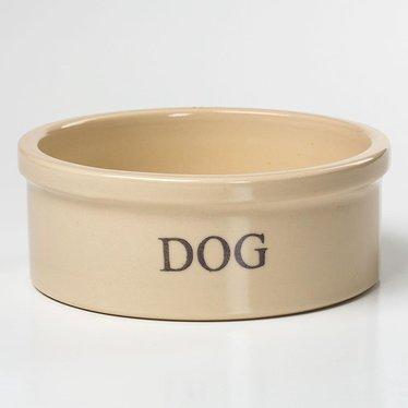 Stoneware Dog Bowl - Medium