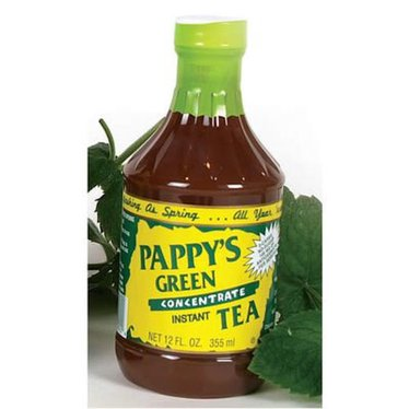 Pappy's Green Tea Concentrate