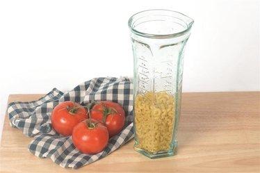 Italian Glass Measuring Jug