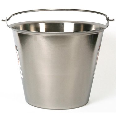 23 Qt. Seamless Stainless Steel Pail