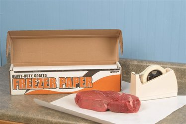 Freezer Paper Roll with Dispenser