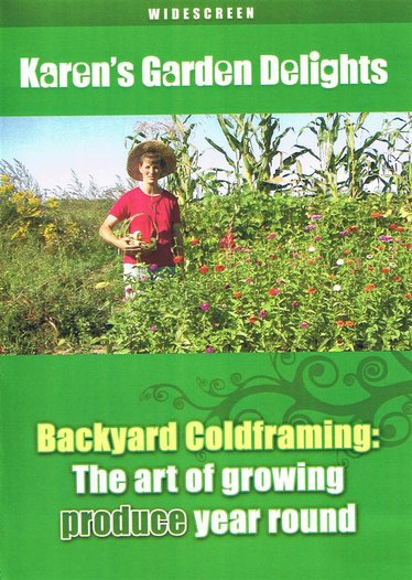 Backyard Coldframing DVD