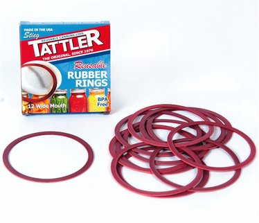 Replacement Wide Mouth Rubber Rings