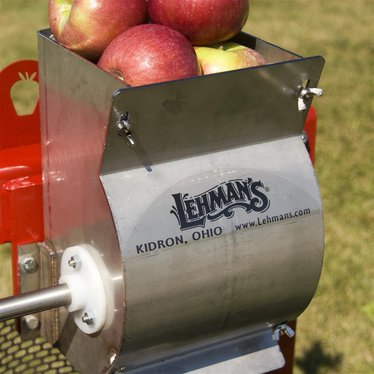 Apple Grinder for Lehman's Stainless Steel Cider Press