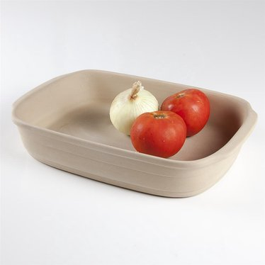 Natural Stoneware Rectangle Baking Pan
