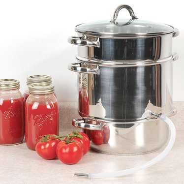 8 1/4 Qt Stainless Steel Steam Juicer