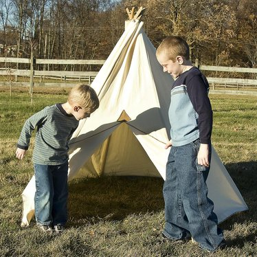 Child's Teepee Tent