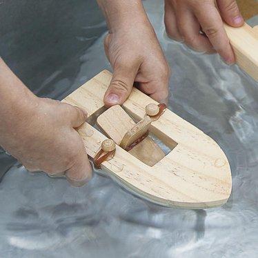 Rubber Band Paddlewheel Boat