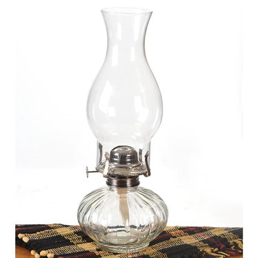 Ellipse Clear Oil Lamp