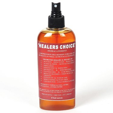 Healer's Choice Herbal Liniment
