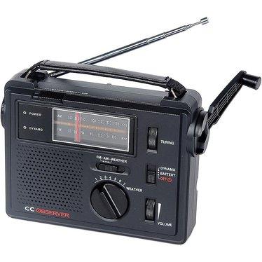 Solar Emergency AM/FM/Weather Radio/Light