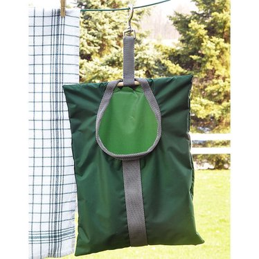 Clip-On Clothespin Bag