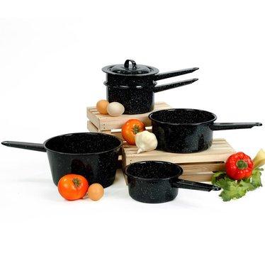 Enamelware Sauce Pans