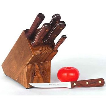 Case 7-piece Knife Set with Block