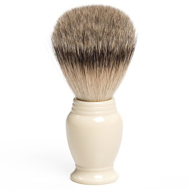 Finely-Polished Badger Hair Shaving Brushes