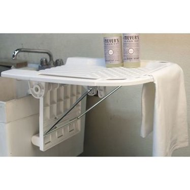 Plastic Utility Sink With Drainboard : ... Home & D?cor / Household Helpers / Folding Utility Sink Drainboard