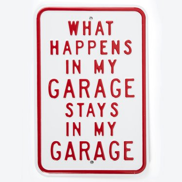 My Garage Sign