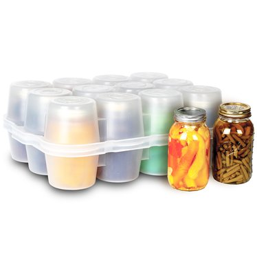 canning jar storage boxes quart size mason jar lehman 39 s. Black Bedroom Furniture Sets. Home Design Ideas