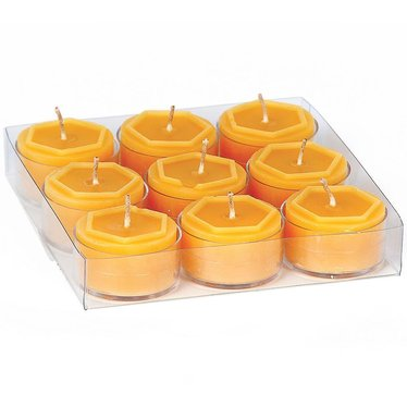 100 percent Beeswax Tealight Candles