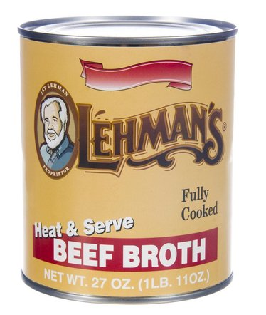 Canned Beef Broth