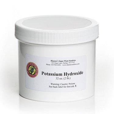 Potassium Hydroxide for Soapmaking