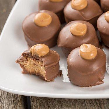 Chocolate Buckeyes