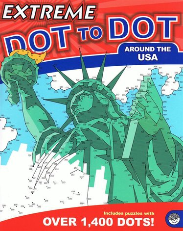 Extreme Dot-to-Dot Around the USA Book