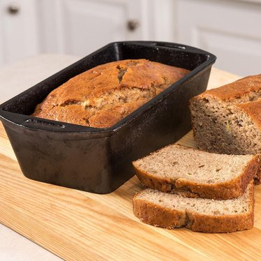 Set of 2 Lodge Logic Cast Iron Bread Pans