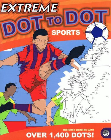 Extreme Dot-to-Dot Sports Book