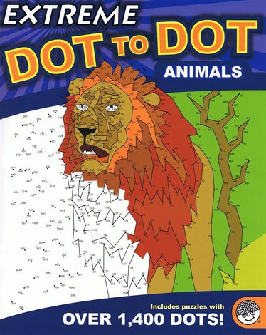 Extreme Dot-to-Dot Animals Book