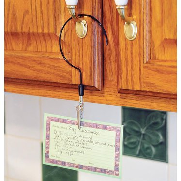 Recipe Card Hook