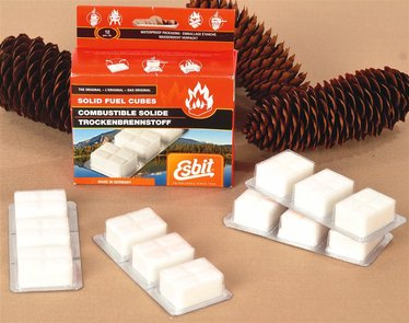 Replacement Fuel Cubes for Pocket Stove