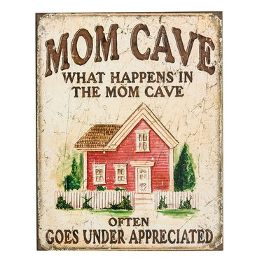 Mom Cave Sign