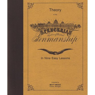 Spencerian Penmanship Theory and Practice Books Set