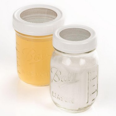 Strainer Lids for Canning Jars - 2 Pack