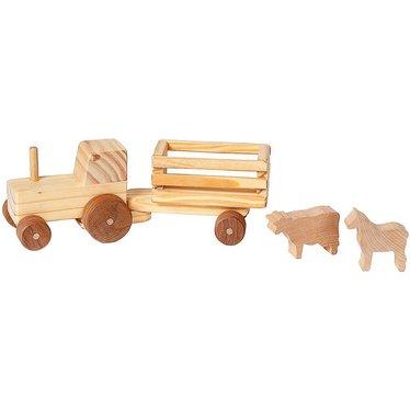 Handmade Wooden Farm Toys