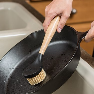 Lodge Nylon Scrubbing Brush for Cast Iron Cookware