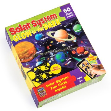 Glow-in-the-Dark Solar System Jigsaw Puzzle
